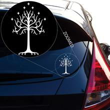 Graphics Tree of Gondor Decal Sticker from Lord The Rings for Car Window, Laptop, Motorcycle, Walls, Mirror and More