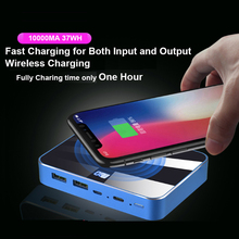 RIY Graphene fast charging wireless charging 10000MAH power bank