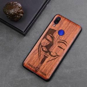 Image 5 - Neue Für Xiaomi Redmi Hinweis 7 Fall Schlanke Holz Zurück Abdeckung TPU Stoßstange Fall Auf Xiaomi Redmi Hinweis 7 Xiomi redmi note7 pro Telefon Fällen
