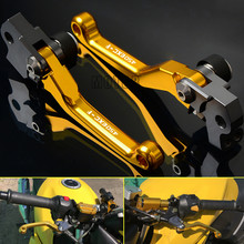 Motocross Dirt Bike Pivot Pit For KTM 450EXC-F 450 EXC F 450 EXCF 2005 2006 2007-2013 2014-2018 CNC Brake Clutch Levers Handle for ktm 350exc f 350excf 350 exc f excf 2011 2013 2014 2018 2017 motocross cnc pivot brake clutch levers dirt bike motorcycle