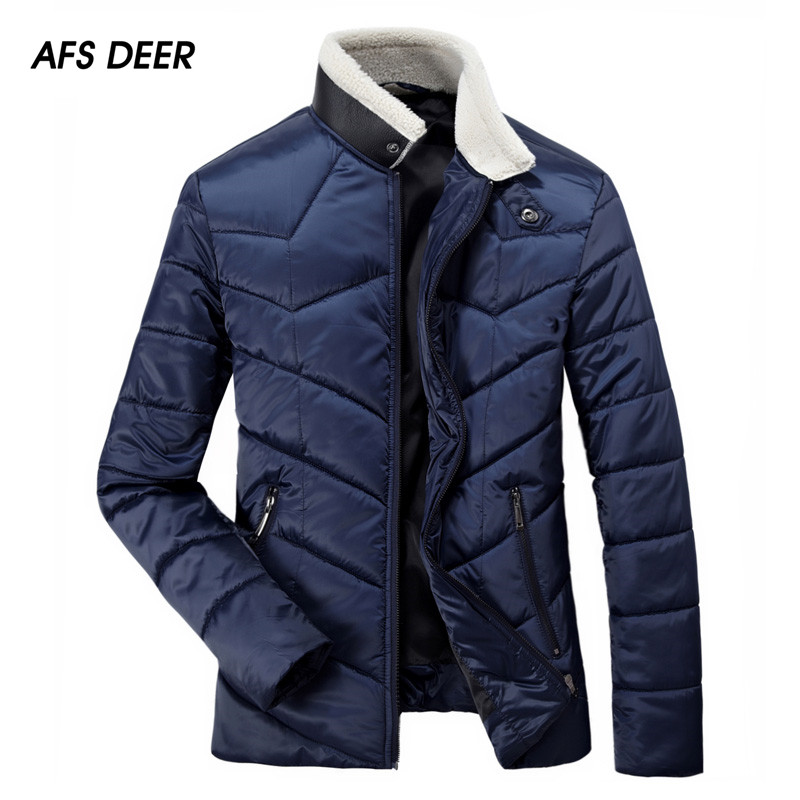 2017 Promotion Real Fashion Zipper Wool Liner Stand Winter Jacket Men Winter Jacket Men Coat Warm Collar Parkas Free Shipping