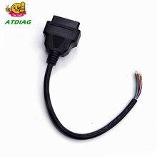 OBD 2 16 Pin Автомобильный Диагностический Интерфейс адаптер OBD2 16 Pin разъем для расширения OBD 2 открытие OBD кабель