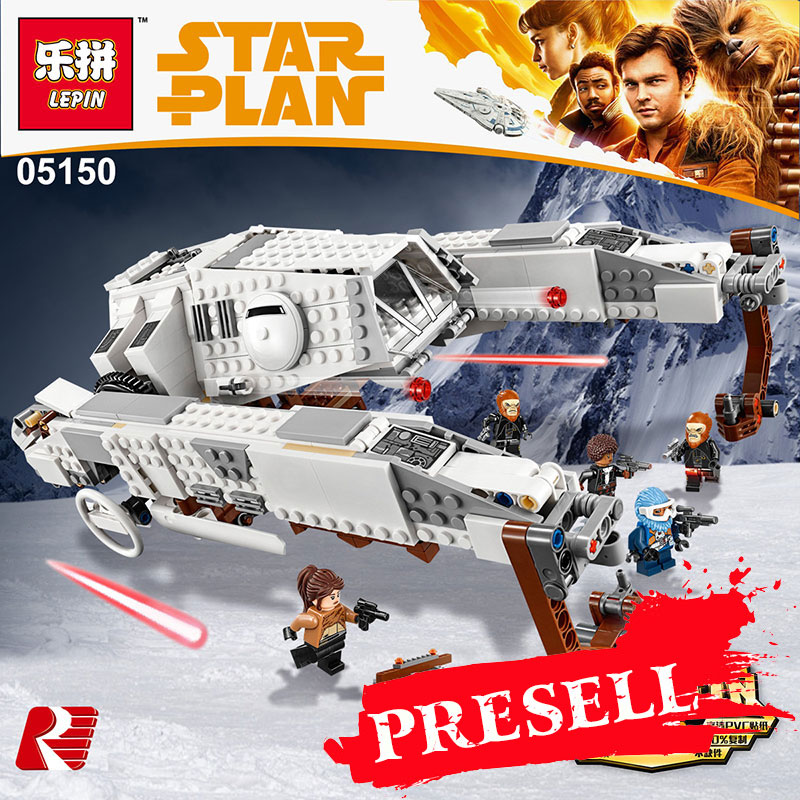 New Lepin 05150 Building Blocks Bricks Star Wars Series Imperial AT-Hauler Compatible Legoing 75219 Educational Toys Funny Gifts lepin 05006 star kylo ren command shuttle lepin building blocks educational toys compatible with 75104 lovely funny toys wars