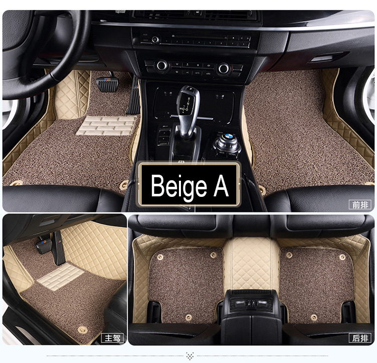 Car floor mats for Kia Sorento Sportage Optima K5 Forte Cerato K3 Cadenza waterproof leather carpet linersCar floor mats for Kia Sorento Sportage Optima K5 Forte Cerato K3 Cadenza waterproof leather carpet liners