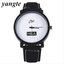 YANGTE Brand Watch Sports Watches Men Quartz Male Clock Black Leather Men'S Wristwatch Women Dress Watch Supreme Relogio A1121