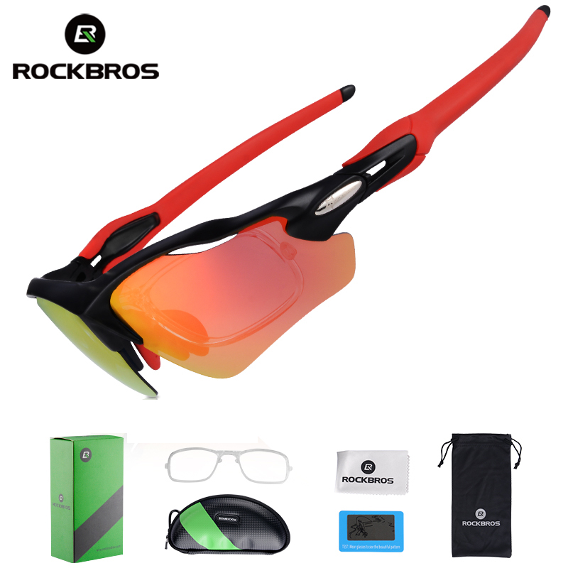 ROCKBROS Polarized Cycling Bicycle Glasses UV400 Cycling Sports Eyewear Ultralight Riding Bike Sunglasses Fishing Bike Equipment uv400 polarized cycling glasses windproof bicycle bike sunglasses sports eyewear for running biking lunettes cycliste homme
