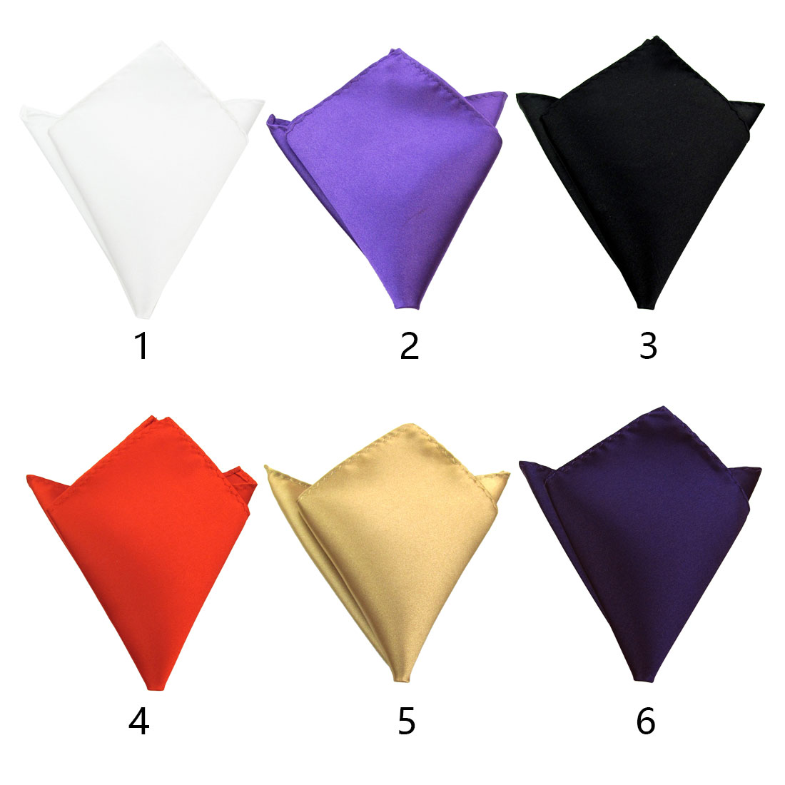 Gentle Men's Retro Style Pocket Square Wedding Men's Handkerchief Hanky Wedding Party