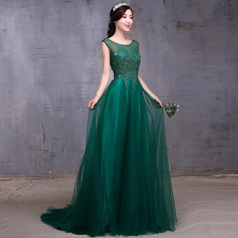 2015 long Korean wedding dresses for women over 40-in Wedding ...