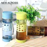 The Tea Pot Portable Travel Cup Filter Cup Office Cup Plastic Bottle Cup Tea Pot Of