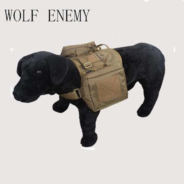 A Roupa Do Cão Cão Coletes Táticos Ao Ar Livre Militar do exército de Carga Cinto Tático SWAT Molle Do Treinamento Do Cão Arnês Colete