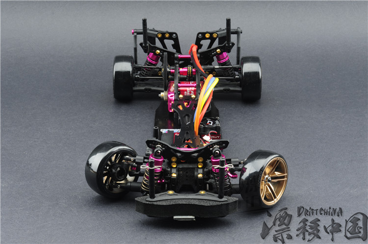 RC Car KIT 3 RACING CS D4 4WD Drift Frame Pro Pack with Complimentary Battery FREE SHIPPING auldey 88010 abs racing car kit