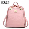 2016 brand women backpack quality PU leather saddle bags jade barracuda bag adolescent girls Top - handle backpack heralds a fas