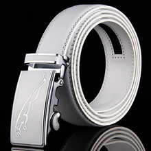 Factory Outlet 2019 Hot New Brand High-grade Jaguar Automatic Buckle Belts Men Business Casual Leather Luxury Belt