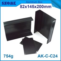 4 PCS Lot Hot Selling High Quality Aluminium Electronic Project Box 82 145 200mm Extrusion Case