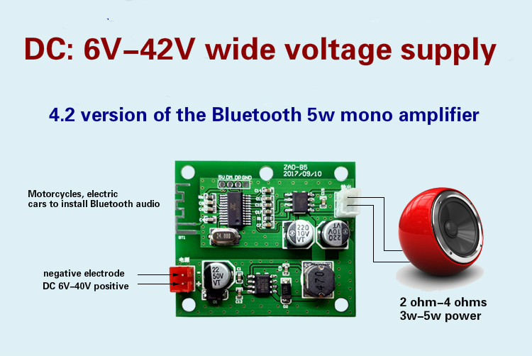 Good and cheap products + Fast delivery worldwide 5w audio amplifier