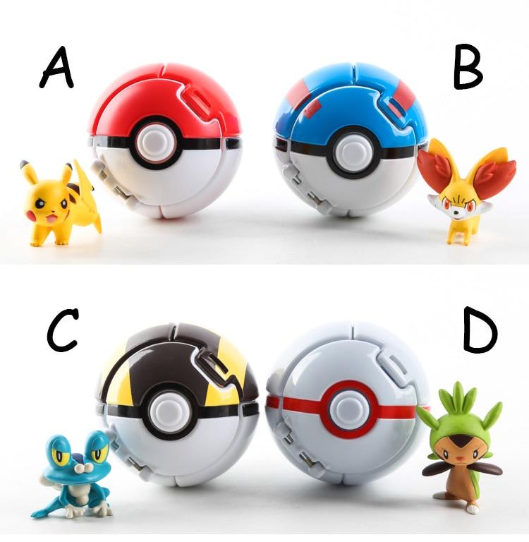 4pcs/<font><b>lot</b></font> random send Trainer <font><b>Poke</b></font> <font><b>Go</b></font> mon Pokeball <font><b>Love</b></font> Park Ball Masterball Pokeballs GS Ultra Dive <font><b>Poke</b></font> Ball <font><b>Toy</b></font> with Pikachu