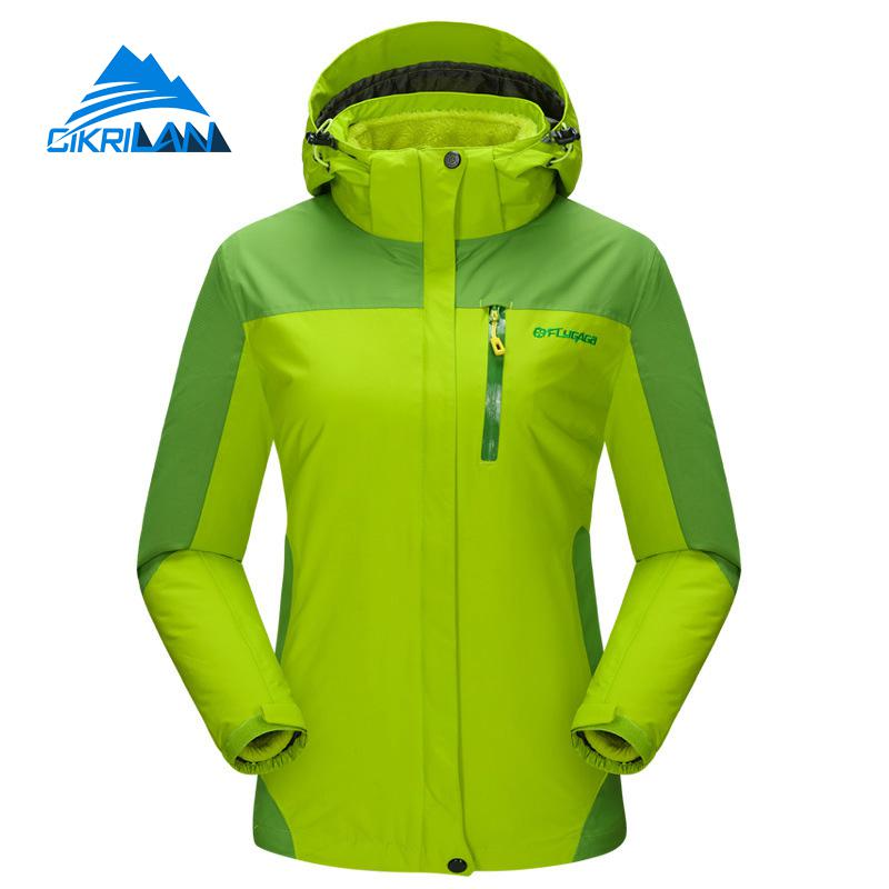 Womens Winter Fishing Clothing Outdoor Sport Snowboard Ski Windproof Waterproof Jacket Women Hiking Coat Camping Casaco Feminino