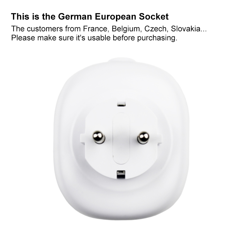 EU Wifi Smart Socket with Mobile Remote Control can Works with Amazon Alexa Google Home No Hub or Remote Controller Required 5