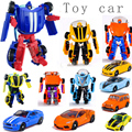 Wholesale 2016 New Arrival Mini Classic Transformation Plastic Robots Cars Action and Toy Figures Kids Education Toy Gifts