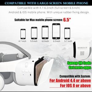 "Image 4 - BOBO VR Z6 Bluetooth 3D gafas Realidad Virtual caja Google cartón estéreo micrófono casco para 4,7 6,5"" smartphone + Joystick"