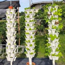 Стек-ап Тип стереоскопический цветочный горшок клубника растение горшок для цветов декоративные овощи