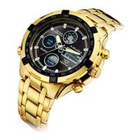 men watch AMUDA brand mens wristwatches quartz digital man watches waterproof stainless steel Multifunction sports watch