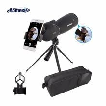 AOMEKIE 25-75X70 Зрительная труба Zoom со штативом и универсальным держателем смартфона HD для наблюдения за птицами охотничий монокулярный телескоп