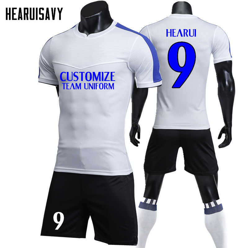 622009aec0c Men soccer Jerseys 2018 2019 maillot de foot survetement football suits  camisetas de futbol uniforms