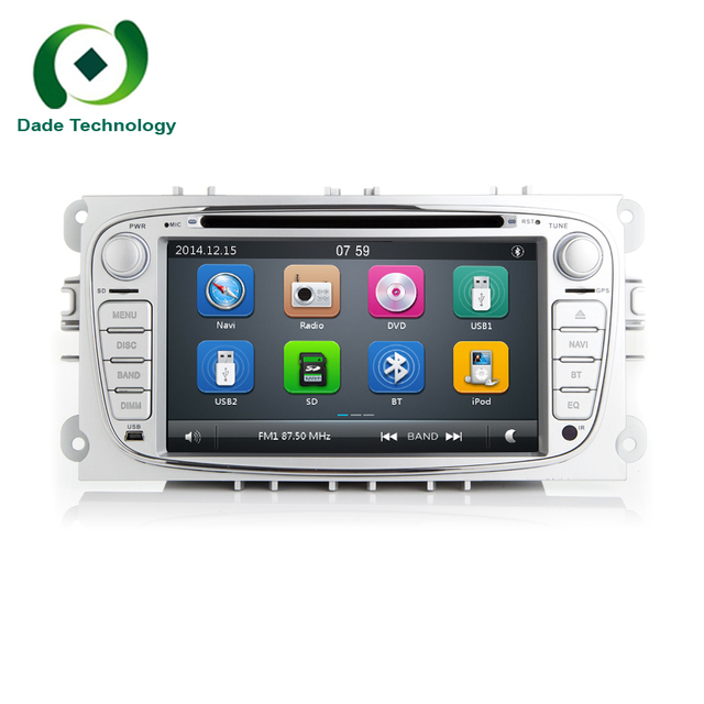 7 inch two din Car multmedia GPS Radio DVD Player For FORD/Mondeo/S ...
