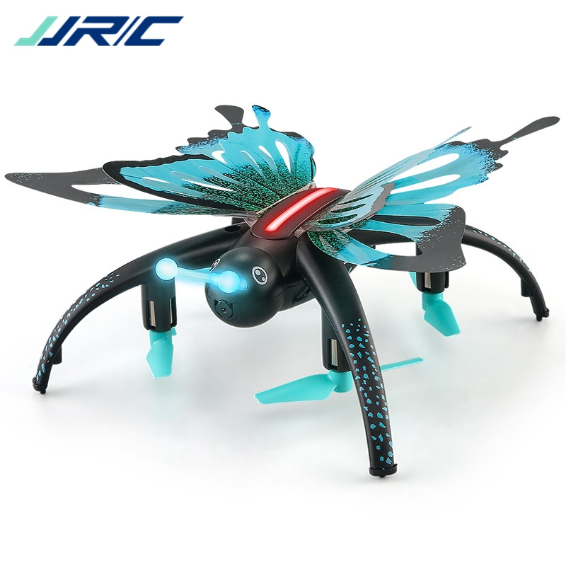 JJR/C JJRC H42WH WIFI FPV Voice Control Altitude Hold Butterfly-like RC FPV Drone Dron Quadcopter Helicopter for Kids Toy Gift jjrc h12wh wifi fpv with 2mp camera headless mode air press altitude hold rc quadcopter rtf 2 4ghz