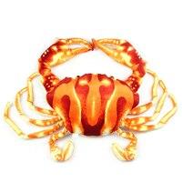 Stuffed Toys Lovely Simulation Animal Doll Plush Crab Toy Kids Pillow Brinquedo Menino Birthday Gift Toys For Children 60G0669