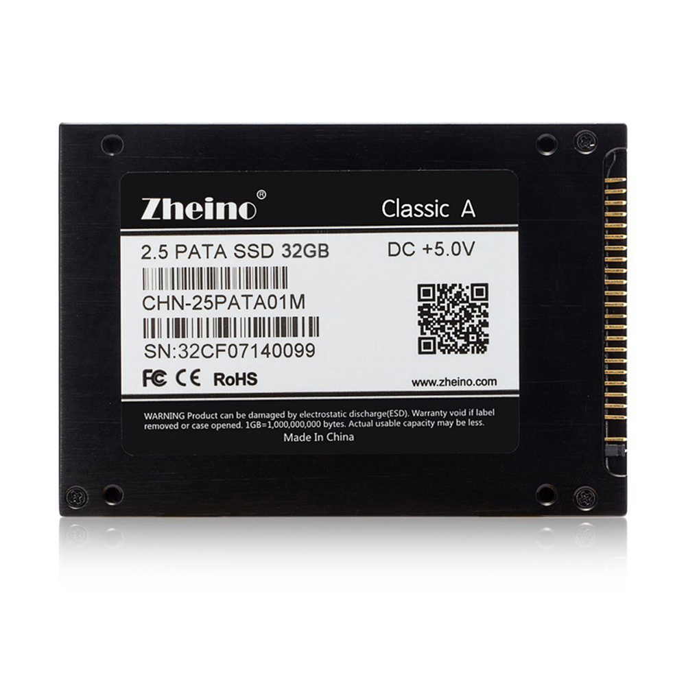 Zheino 2.5 44PIN IDE/PATA SSD 32GB MLC Internal Solid State Drives For laptop DELL D610 D810 IBM X31 X32 T41 T43 T43P R51 V80 ...