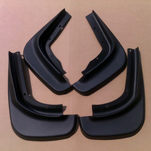 Free Shipping High Quality ABS Plastics Automobile Fender Mudguards Mud Flaps For 2009-2013 VOLVO XC60