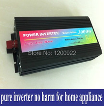 3000watt 3000W  DC12V To AC 220V Pure Sine Wave Inverter Car Electronic Accessories 3000W Peak Power 6000W Solar Inverter