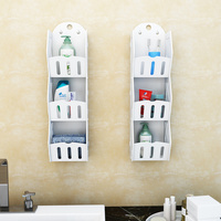 Multi storey wall storage box without perforation sitting room kitchen wall shelf wall hanging wall hanging LM01211443