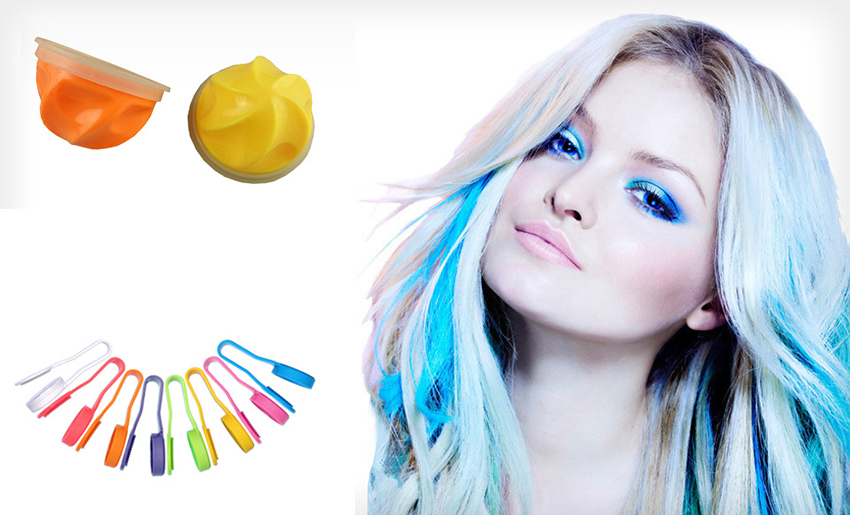1pcs 8color Diy Crazy Color Hair Color Hair Dye Temporary Pastel