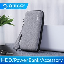 ORICO, Жесткий Чехол, внешний аккумулятор, чехол для 2,5 дюймов, жесткий диск, USB кабель, зарядное устройство, внешнее хранилище, HDD, чехол, сумка