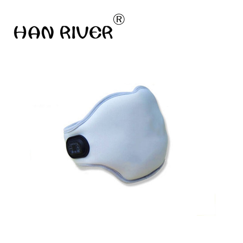 A neck brace charged plus moxibustion heat protection of cervical vertebra of neck warm hot neck collar far infrared heat тепловентилятор aurora heat plus 3000