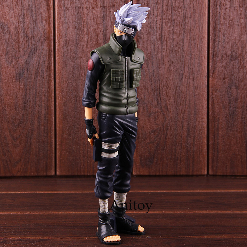 Naruto Shippuden Banpresto Grandista Shinobi Relations Hatake Kakashi Action Figure PVC Collectible Model Toy 1