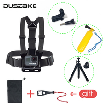 DUSZAKE DG15 Chest Mount For Gopro Hero 6 Strap For Go pro Hero 5 Tripod For GoPro Hero 6 Mount For Eken H9 Yi 4K Accessories