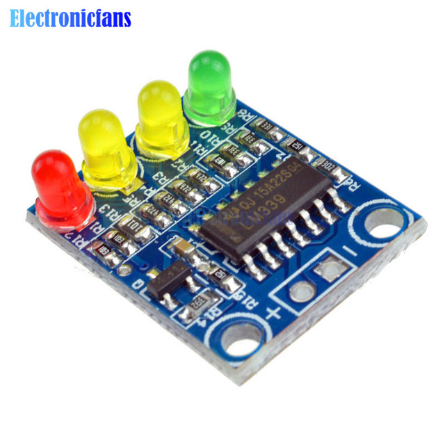 US $0 4 10% OFF 12V Electric Quantity 4 Power Indicator Battery Detection  Module For Arduino TOP-in Integrated Circuits from Electronic Components &