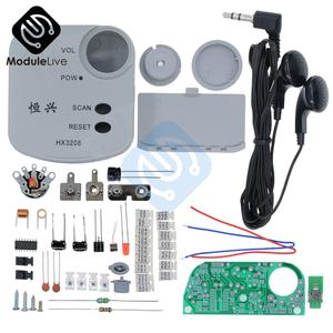 Diy-Kits Radio Electronic-Production Training-Suite SMD FM Micro HX3208 Fm-Frequency-Modulation