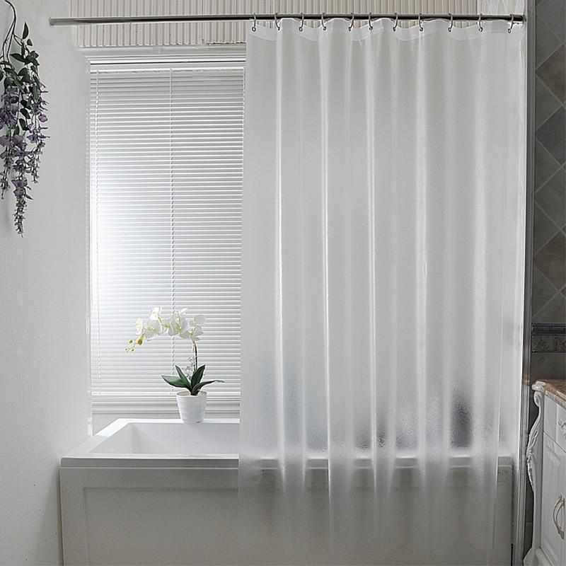 Nordic Kunststoff Wasserdicht Punch-free Duschvorhang Transluzent - Haushaltswaren - Foto 1
