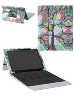 2016 New PU Leather Romovable Portfolio Folio Stand Magnetic Case For 12 6 ASUS Transformer 3