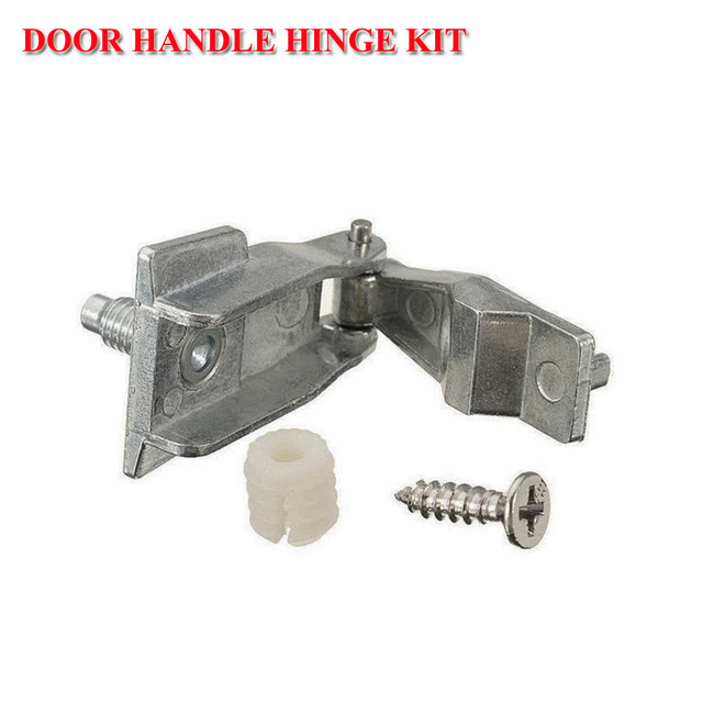 Car Auto For Fiat 500 Chrome Outer Door Handle Hinge Repair Kit OS or NS dd526