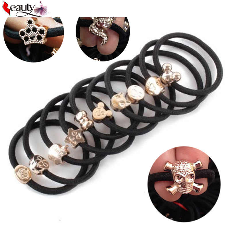 Styling Tools Painstaking 10 Pcs/pack Same Style Fashion Girl Elastic Hair Rubber Band Rope Scrunchie Ponytail Holder Bands Hairband Hair Accessories Clients First