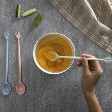 New 2017 3Pcs Lovely styling Fruit Forks Set Cake Dessert Fork Kitchen Snacks Salad Tools Home Flatware #0928