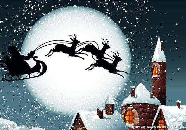 С Рождеством христовым Ночь 5D сделай сам алмаз живопись вышивки крестом наборы стикер полный квадрат дрель алмазного вставить вышивка ремесла