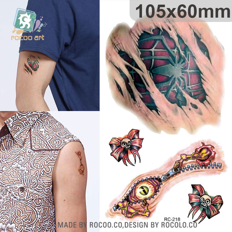 Popular halloween fake scars buy cheap halloween fake for Fake wound tattoos