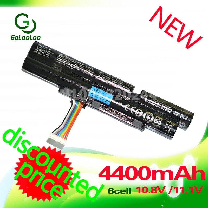 Golooloo 4400 mAh batterie D'ordinateur Portable pour Acer Aspire TimelineX 3830TG 3830 T 4830 T 5830 T 4830TG 5830TG 3INR18/65-2 AS11A3E AS11A5E